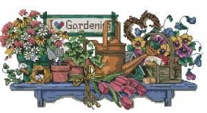Схема Я люблю садоводство