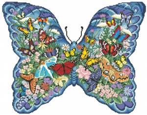 Схема Бабочка из бабочек