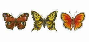 Схема Три бабочки