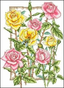 Схема Розы и пчела