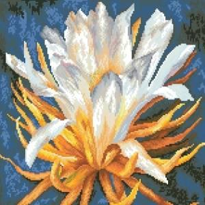 Схема Экзотический цветок