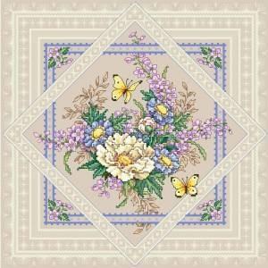Схема Цветочный узор