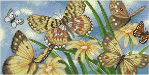 Схема Бабочки виньетки