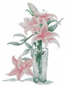 Схема Лилии в стакане