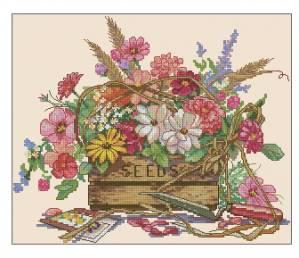 Схема Саженцы цветов
