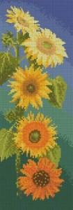 Схема Подсолнухи панель / Sunflowers panel