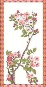 Схема Цветущая вишня (панель)