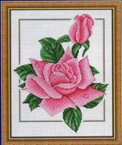 Схема Розовый дуэт