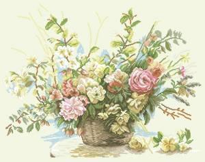 Схема Букет роз