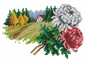 Схема Цветочный календарь. Ноябрь