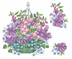 Схема Цветы в горшке / Carolinn Palmer Florals