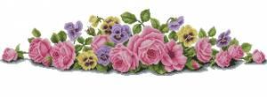 Схема Розы на скатерть