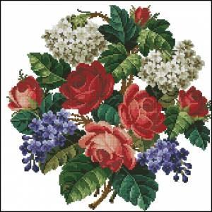Схема Ретро-розы