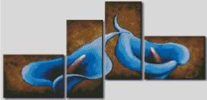Схема Синие каллы (тетраптих)