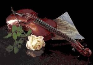 Схема Скрипка и роза