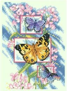 Схема Цветение бабочек / Blossoms and Butterflies