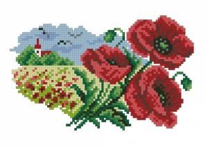 Схема Цветочный календарь. Июль