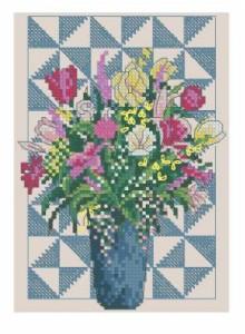 Схема Цветочный пэчворк / Floral Patchwork
