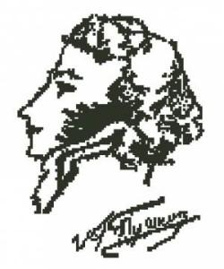 А.с.пушкин схемы для вышивки