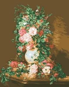 Схема Роскошные розы