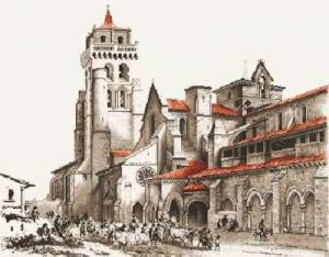 Схема Монастырь под ударом / Monasterio de las huelgas