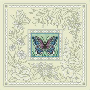 Схема Причудливая бабочка