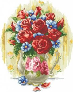 Схема Элегантные цветы