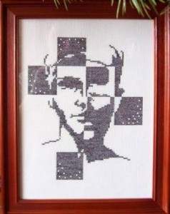 Схема Портрет мужчины