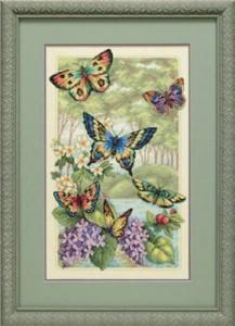 Схема Лесные бабочки