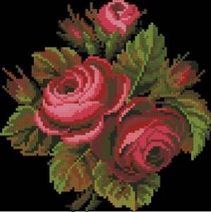 Схема Розы на черном