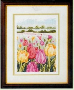 Схема Поле тюльпанов