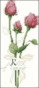 Схема Букетик роз