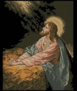 Схема Икона Христос в Гефсиманском саду