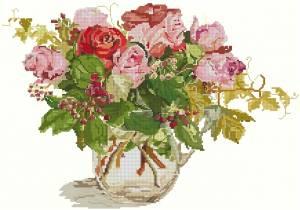 Схема Голландская роза