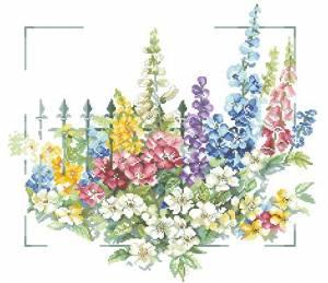 Схема Цветы у ворот / Flowers at Gate