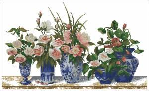 Схема Розовая гармония