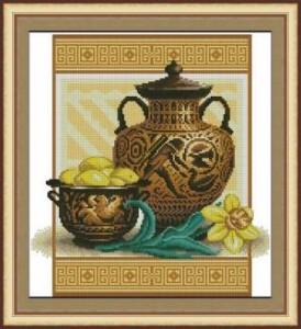 Схема Античные вазы