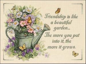 Схема Цветение дружбы / Dimensions13706_Friendship_Grows