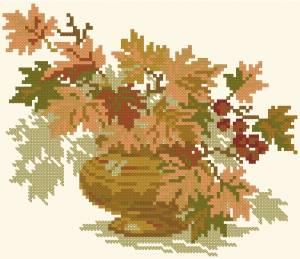Схема Осенний букет