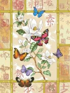 Схема Блестящее празднование / Brilliant Butterfly Celebration