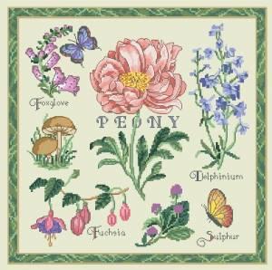 Схема Цветочное попурри