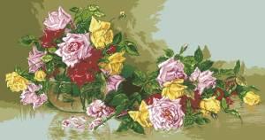 Схема Роза очарования / G 660 Farmecul trandafirilor