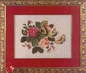 Схема Букет с розами