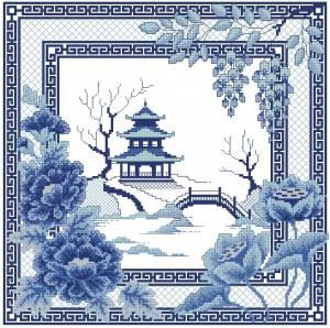 Схема Китайские мотивы