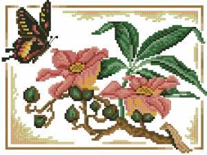Схема Бабочка у ветки / Salling Vessel