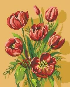Схема Тюльпаны / G 576 Lalele