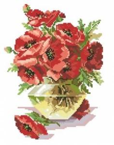 Схема Маки в вазе (вариант 1)