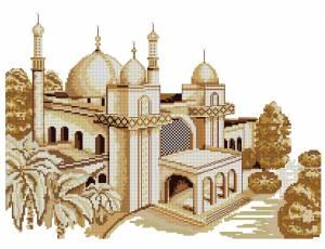 Схема Мечеть