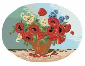 Схема Дикие цветы / Wild Flowers