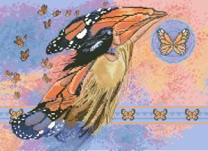 Схема На крыльях бабочки / On Batterfly Wings